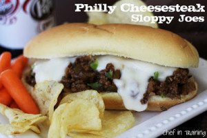 Recipe Review – Philly Cheesesteak Sloppy Joes