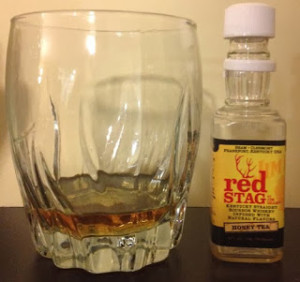 Red Stag Honey Tea infused Bourbon