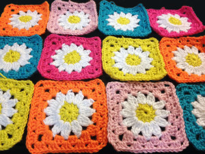 It's a Daisy!  Afghan Progress