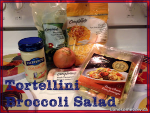 Tortellini Broccoli Salad