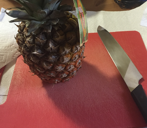 The Only Way to Cut Pineapple