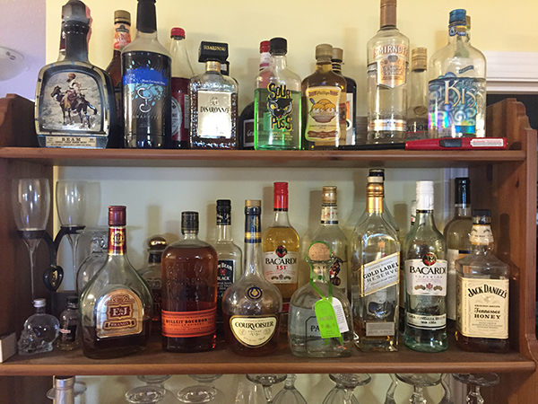 Bar-top-Shelf