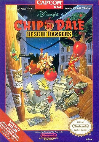 Retrogaming – Chip 'n Dale Rescue Rangers (NES)
