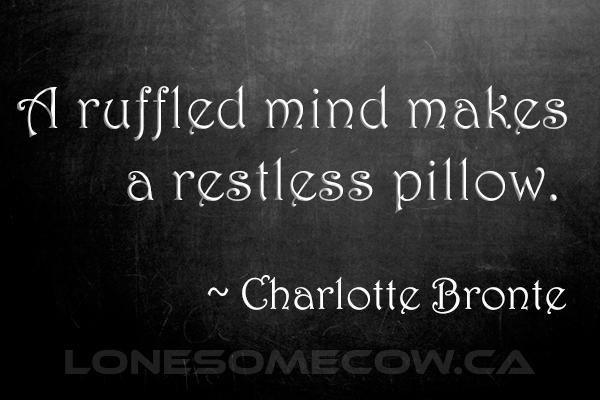 Restless Quote