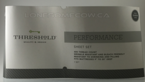 Review – Threshold Performance Sheet Set