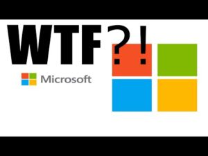 WTF Microsoft – RE: KB3163622